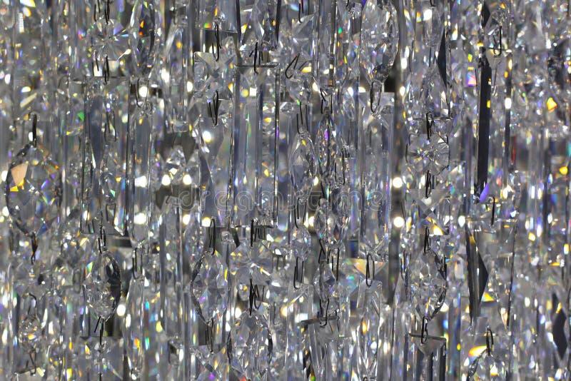 Fondo dei cristalli fotografie stock