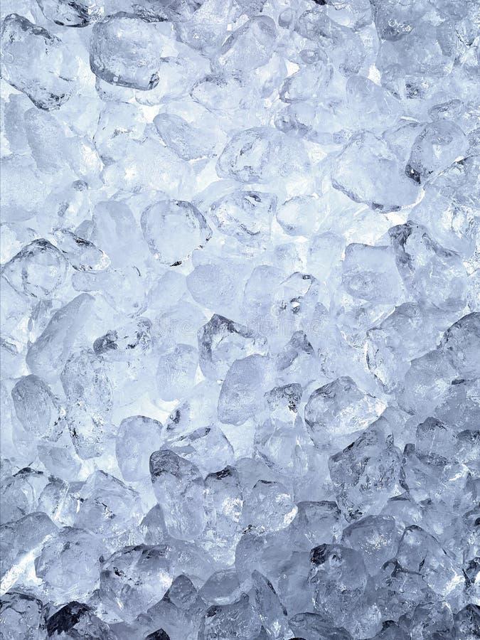 Fondo dei cubetti di ghiaccio immagini stock
