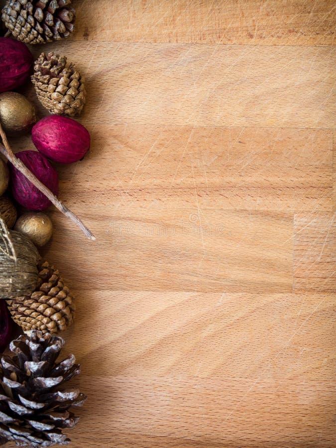 Fondo dei potpourri di Natale fotografia stock