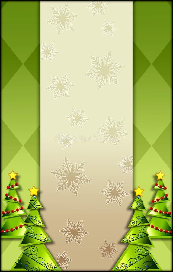 Fondo del árbol de navidad libre illustration