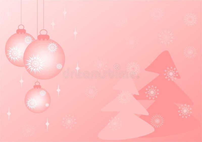 Fondo del Año Nuevo ilustración del vector