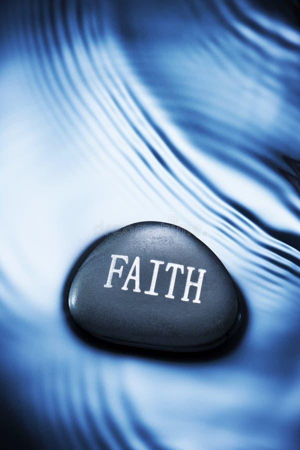 Fondo del agua de la fe imagenes de archivo
