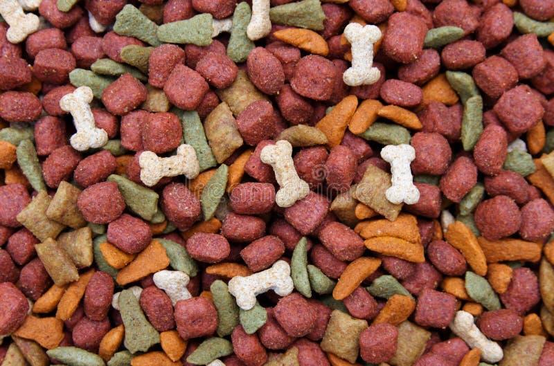 Fondo del alimento de perro imágenes de archivo libres de regalías