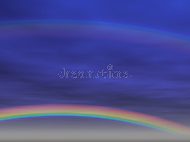 Fondo del arco iris [2] libre illustration