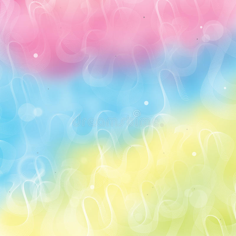 Fondo del arco iris ilustración del vector