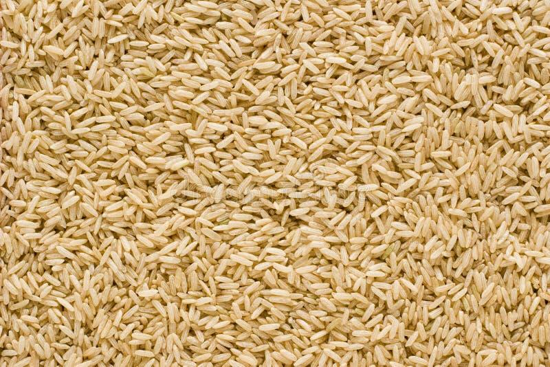 Fondo del arroz moreno fotografía de archivo libre de regalías
