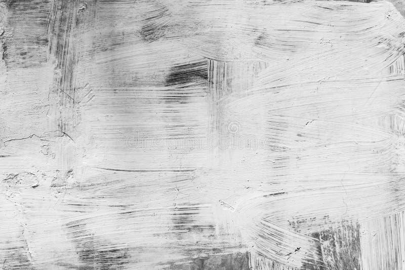 Fondo del arte abstracto del color blanco pintado en la madera negra b foto de archivo libre de regalías