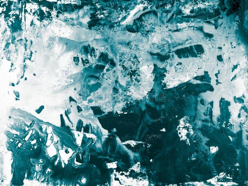 Fondo del arte abstracto, pintura de la textura foto de archivo