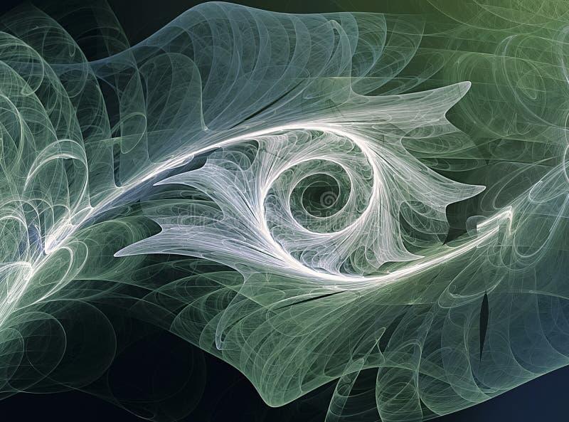Fondo del arte del fractal para el diseño creativo ilustración del vector