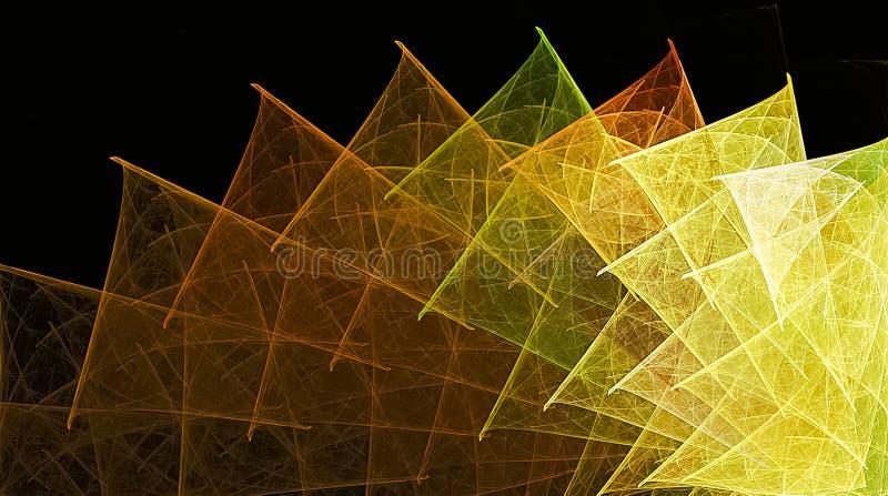 Fondo del arte del fractal para el diseño creativo libre illustration