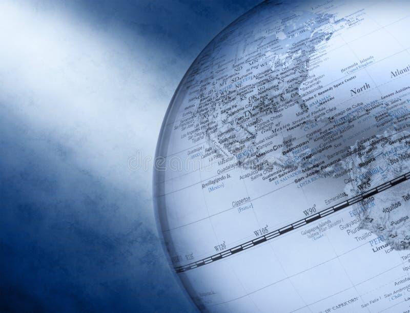 Fondo del asunto de mundo del globo fotografía de archivo libre de regalías