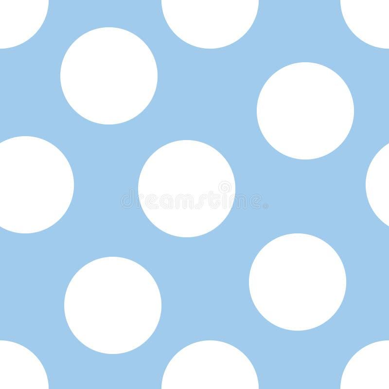 Fondo del azul de bebé libre illustration