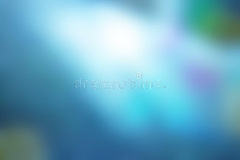 Fondo del azul de la falta de definición fotos de archivo