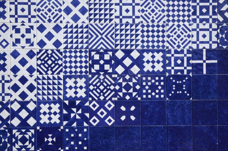 Fondo del azul de la teja imagenes de archivo