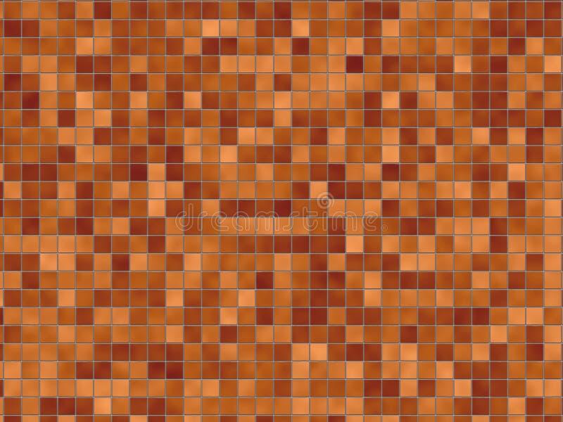 Fondo del azulejo de Brown libre illustration