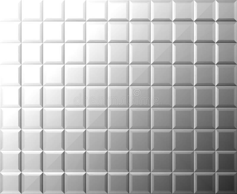 Fondo del azulejo del metal ilustración del vector