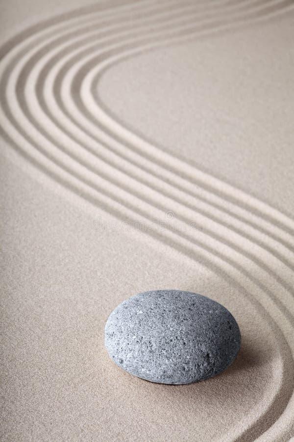 Fondo del balneario de la pureza de la espiritualidad del jardín del zen fotos de archivo libres de regalías