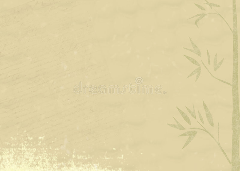Fondo del bambú de Grunge libre illustration