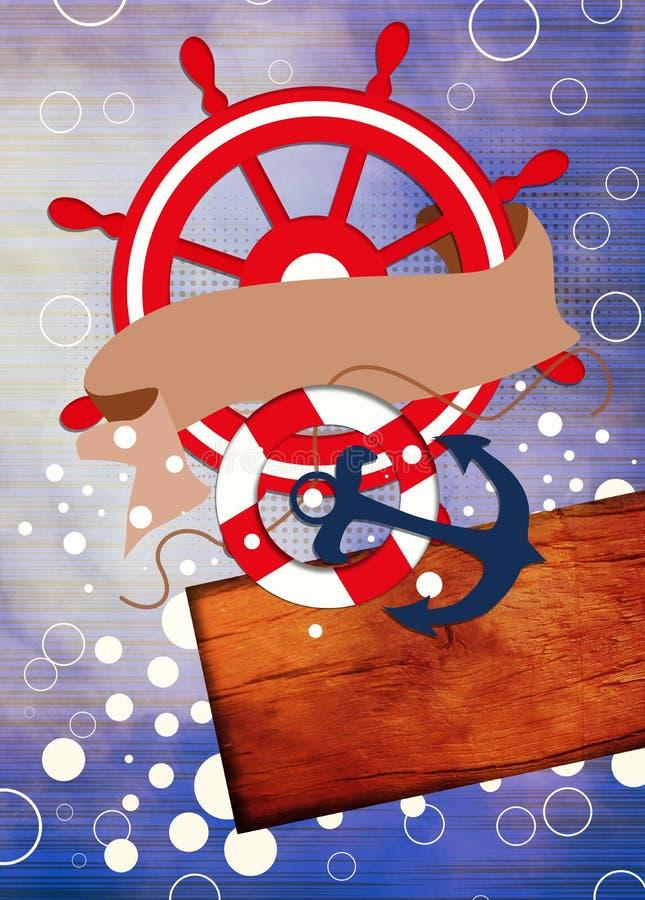 Download Fondo Del Barco O De La Nave Stock de ilustración - Ilustración de invitación, ataque: 41919598