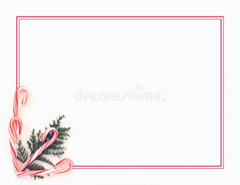 Fondo del bastón de caramelo stock de ilustración