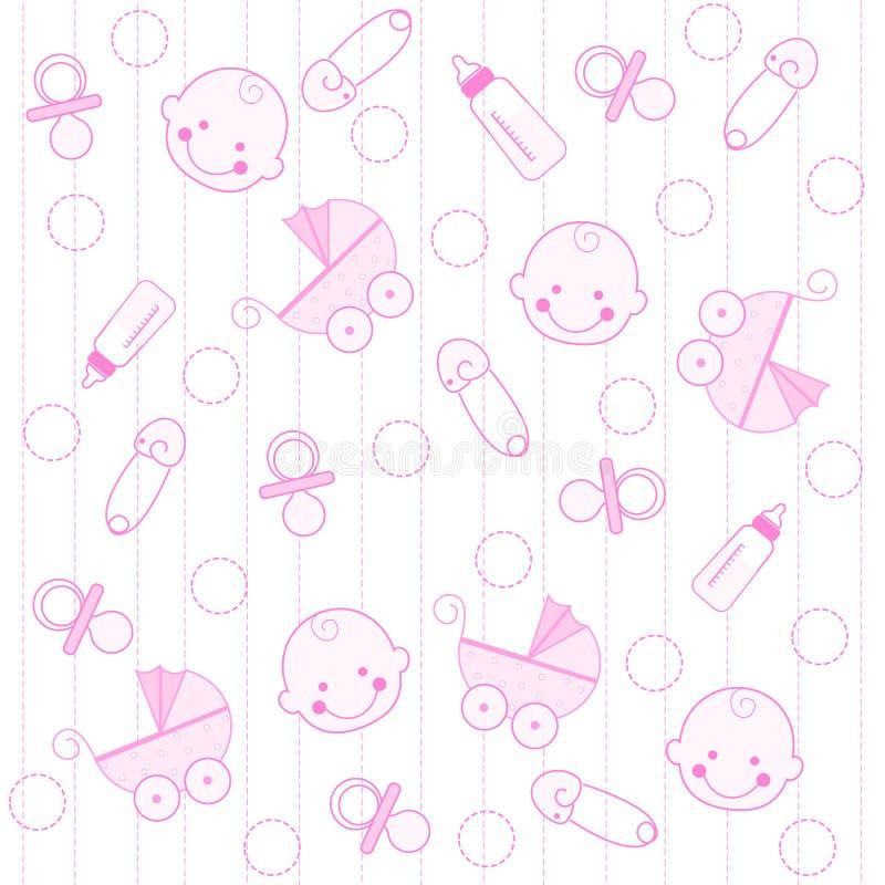 Fondo del bebé libre illustration