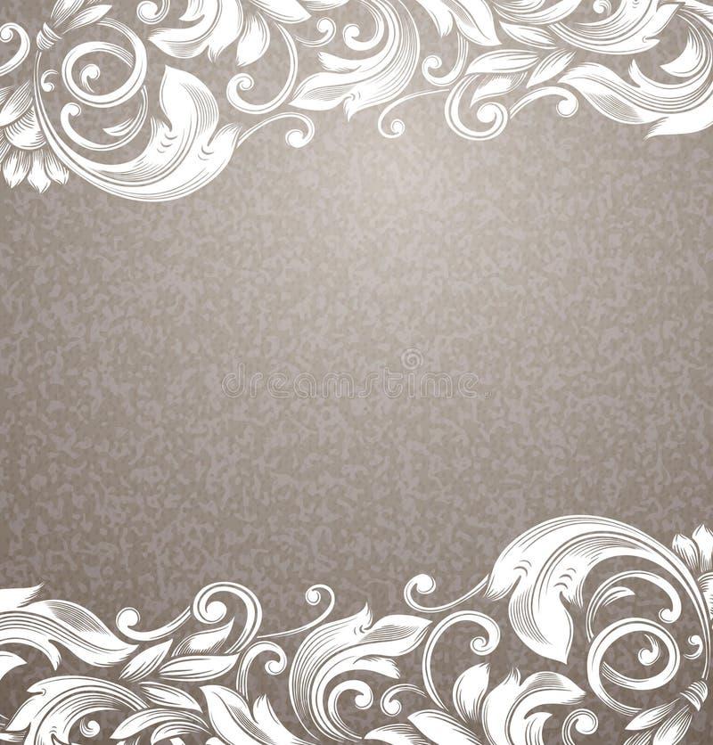 Fondo del beige del vintage libre illustration