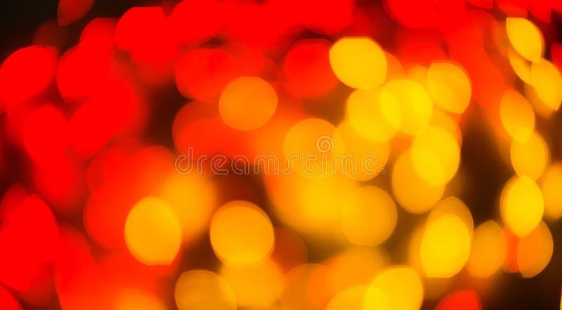 Fondo del bokeh vago luce di colore, unfocused fotografia stock libera da diritti