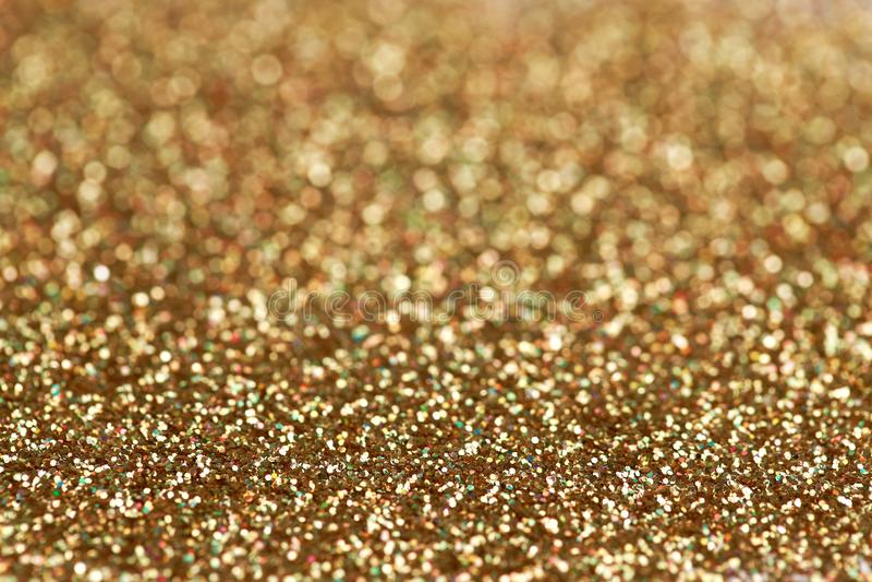 Fondo del brillo del oro y de la plata del Año Nuevo de la Navidad Textura del extracto del día de fiesta fotos de archivo