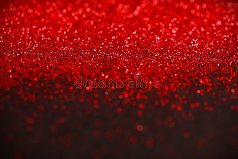 Fondo del brillo del rojo y del negro imágenes de archivo libres de regalías
