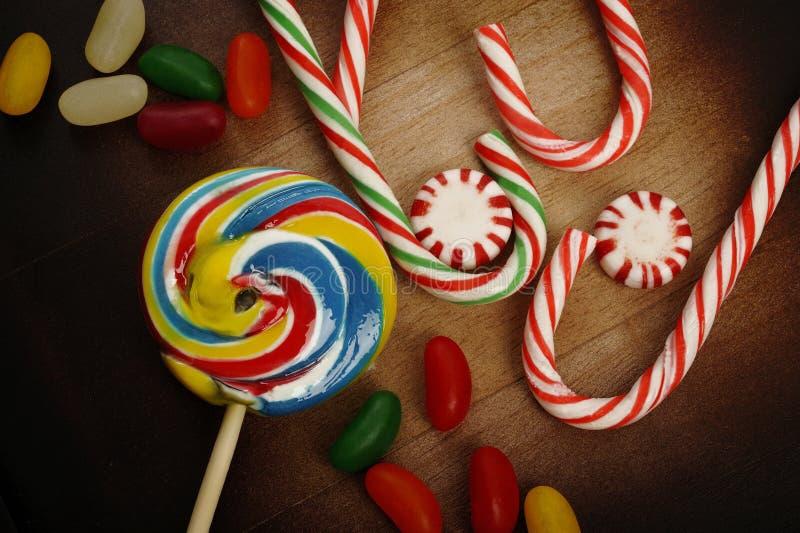 Fondo del caramelo fotografía de archivo