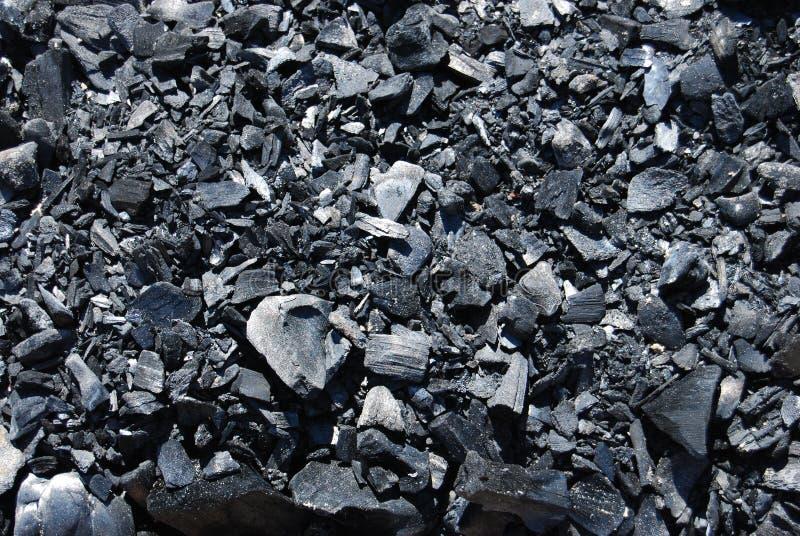Fondo del carbón imagenes de archivo
