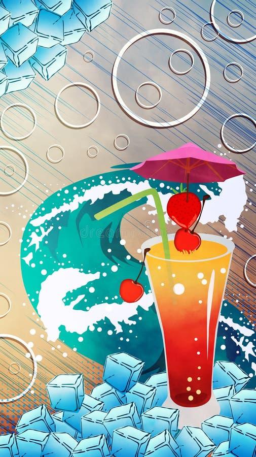 Download Fondo del c?ctel foto de archivo. Imagen de cristal, alcohol - 41917990