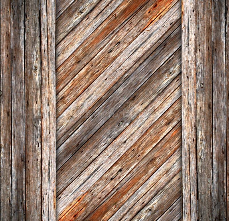 Fondo del cemento de madera y de la grieta imágenes de archivo libres de regalías