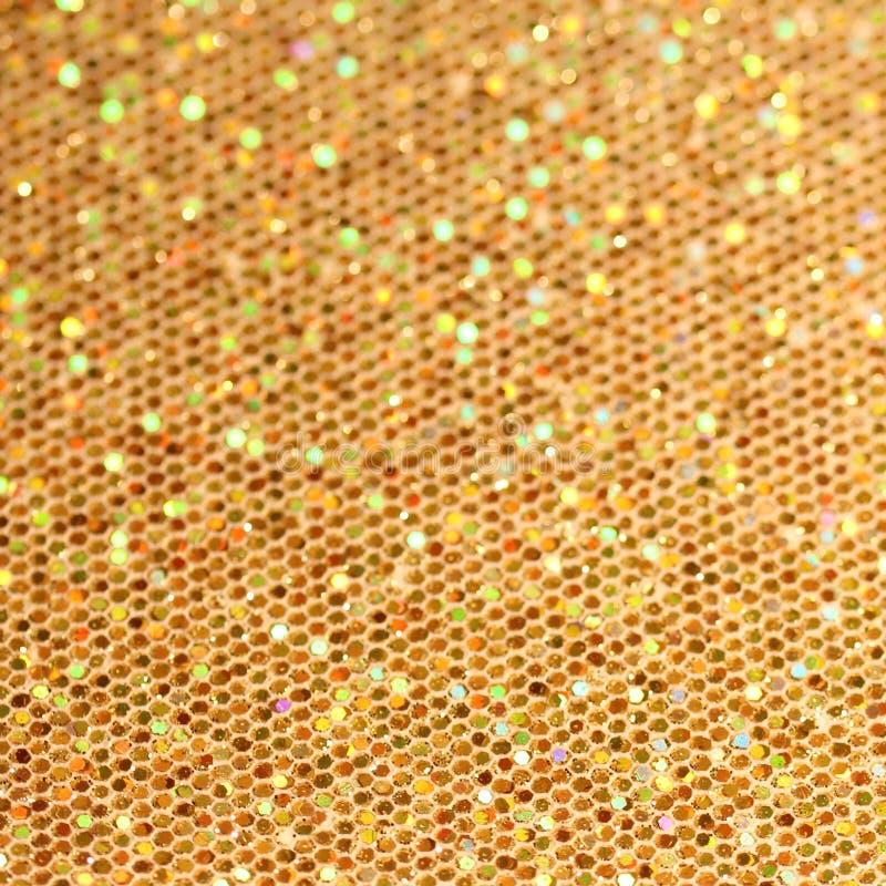 Fondo del centelleo del oro de la Navidad. fotografía de archivo libre de regalías