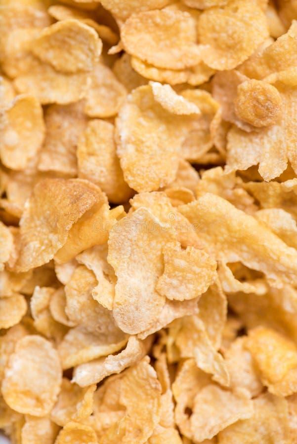 Fondo del cereale dei fiocchi di granturco immagine stock libera da diritti