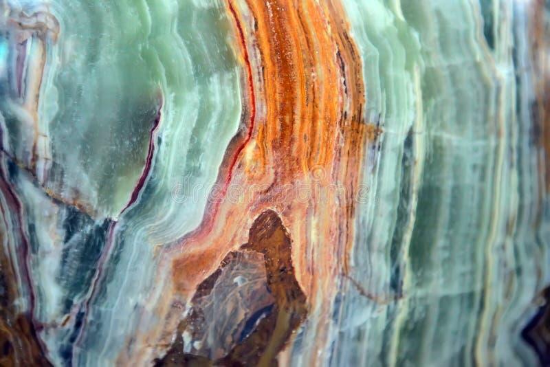 Fondo del chalcedony della gemma fotografia stock