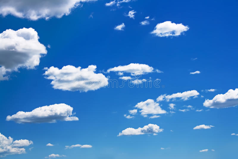 Fondo del cielo azul fotos de archivo libres de regalías