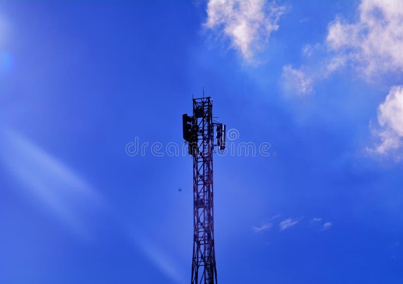 Fondo del cielo blu di Awesom fotografia stock libera da diritti