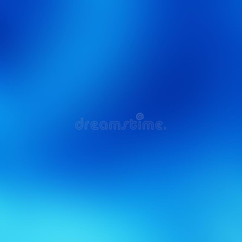 Fondo del cielo blu, modello naturale di struttura di pendenza dei colori blu scuro, leggeri, pallidi e luminosi del cielo Contes royalty illustrazione gratis