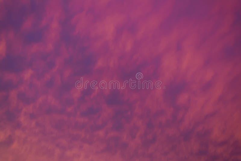 Fondo del cielo en la puesta del sol foto de archivo libre de regalías
