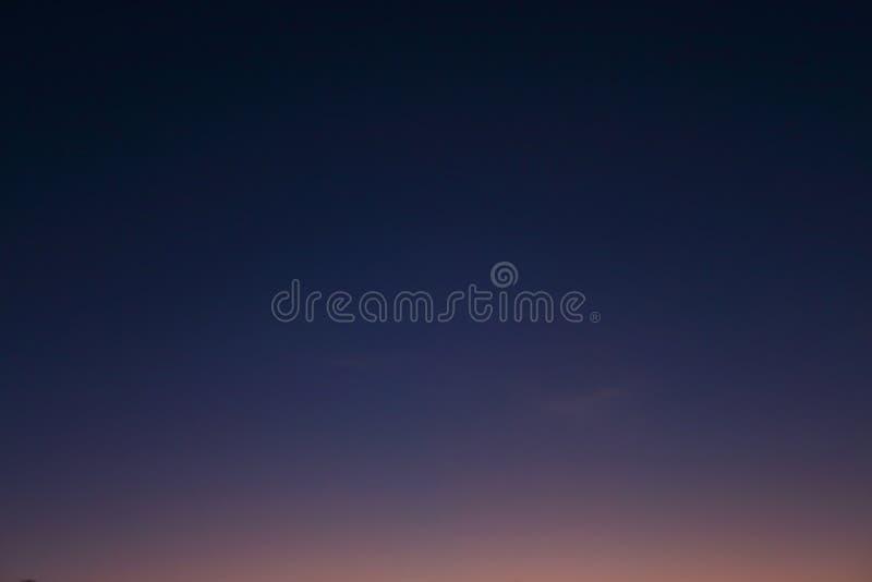 Fondo del cielo nocturno imagen de archivo