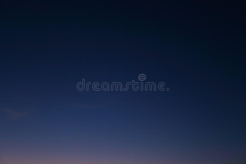 Fondo del cielo nocturno foto de archivo libre de regalías