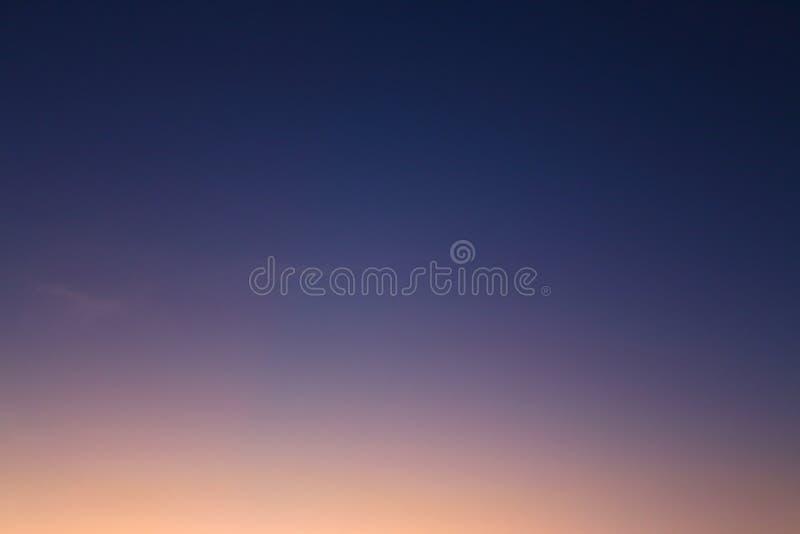 Fondo del cielo nocturno foto de archivo