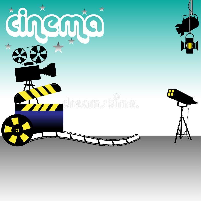 Fondo del cine libre illustration
