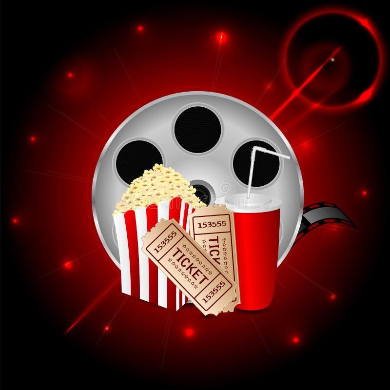 Fondo del cinema royalty illustrazione gratis