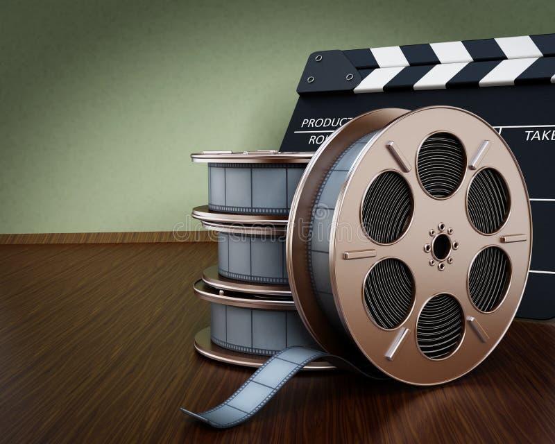 Fondo del cinematografo illustrazione di stock