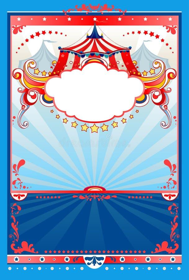 Fondo del circo ilustración del vector