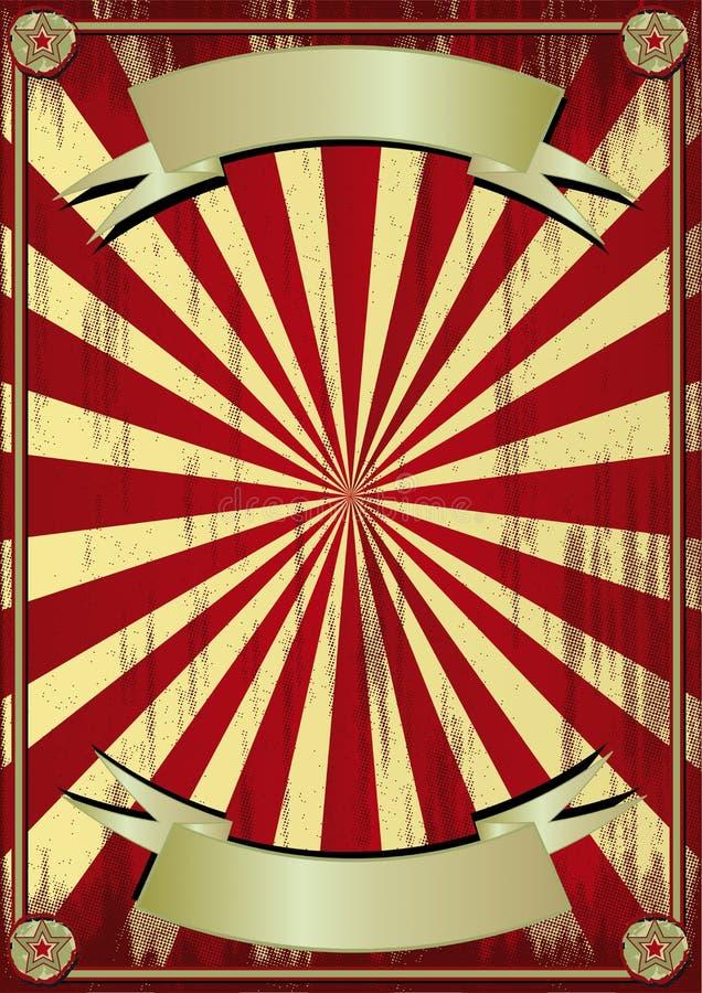 Fondo del circo de Grunge libre illustration