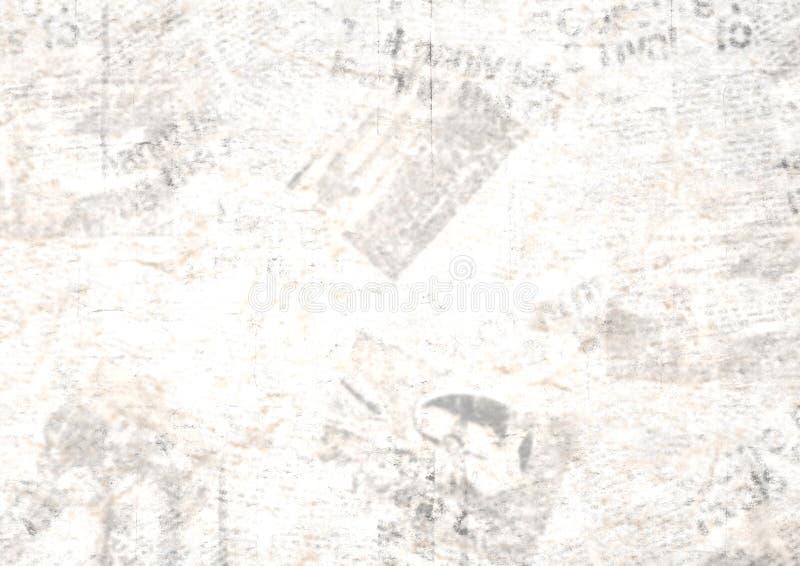 Fondo del collage del periódico del grunge del vintage foto de archivo
