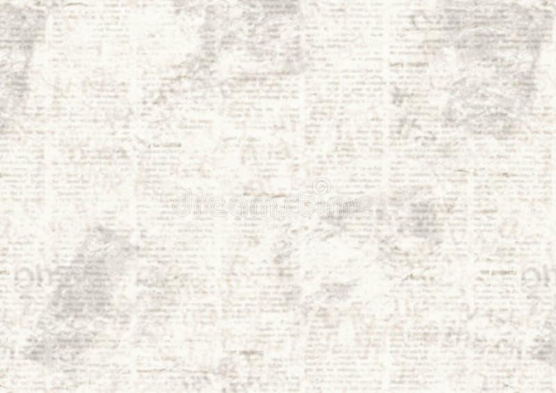 Fondo del collage del periódico del grunge del vintage libre illustration